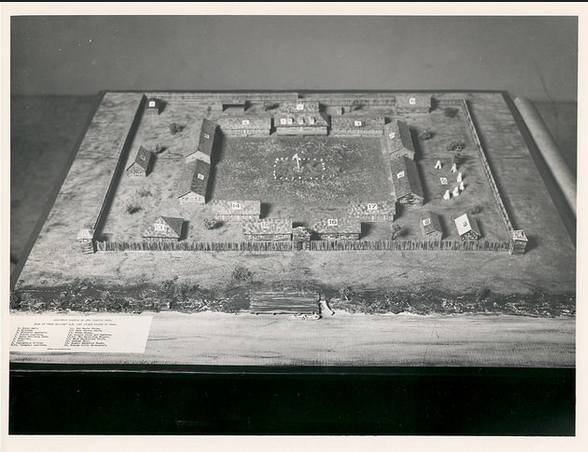 1990-17-80_Fort William Historical Park Reconstruction Model