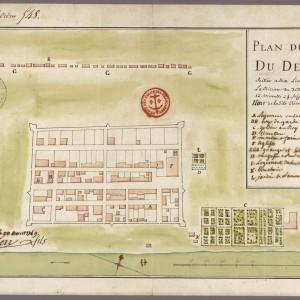 40554_ Plan du Fort du Détroit