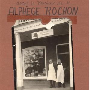 Alphège et René Rochon_Boucherie Rochon
