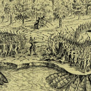 Battle Sketch_Champlain