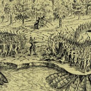 Battle Sketch_Champlain
