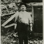 Blacksmith Fred LaRose discovered silver in 1903 while working for the railroad