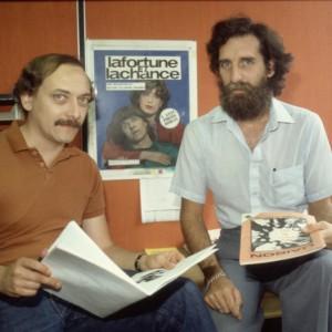 C71-D76-855_b_André Bélanger et Fernan Carrière, directeur de la Revue Liaison
