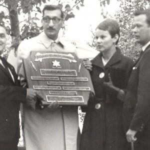 Centenaire de la confédération et l'innauguration du Parc du Moulin à Rockland