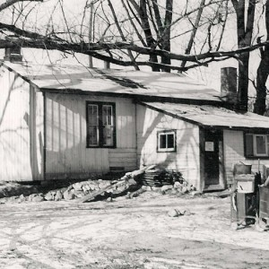 Charles Sauriol's cottage at the Forks of the Don