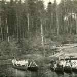 Group of canoers_ca.1910