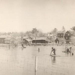 Inondation de Rockland_1953