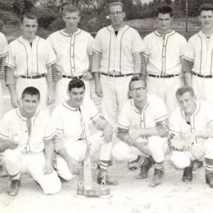 L'Équipe de Baseball de Rockland_1961