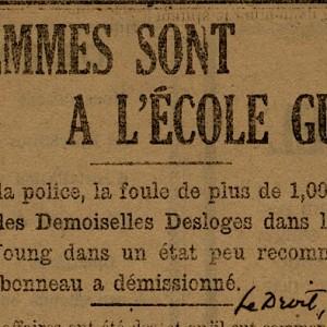 Les femmes sont à l'école Guigues_C2, C2-89-9