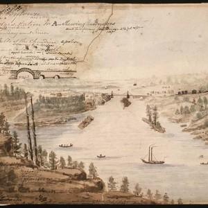 Mikan 2895241_Vue de Bytown (Ottawa) et des ponts