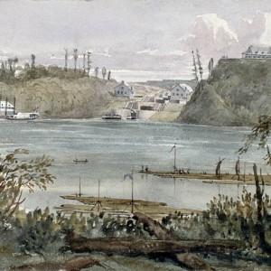 Mikan2896304_Entrée du canal Rideau à Bytown