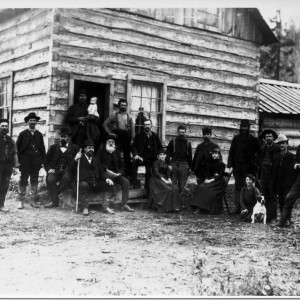 Miners at Silver Mountain_1885