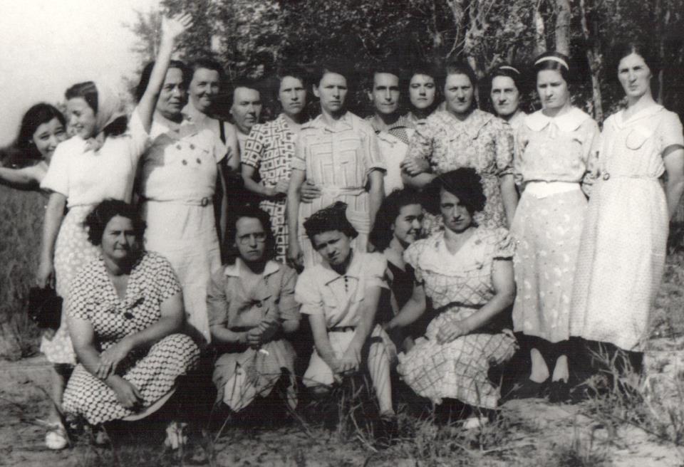 Pique-nique du Cercle des fermières_1936