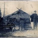 Prospecteur typique et sa cabane_Colbalt_1904