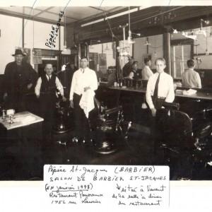 Salon de Barbier de M. Hervé St-Jacques