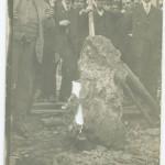 Silver 'float' found at the Gem claim, Cobalt, ca. 1900