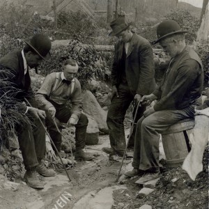 The Lawson vein, also known as the 'silver sidewalk', 1904