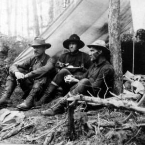 Three Prospectors by Tent_ca.1905